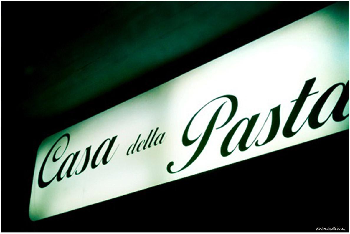 Casa Della Pasta | chestnutandsage.de