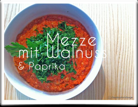 Walnuss-Paprika-Mezze