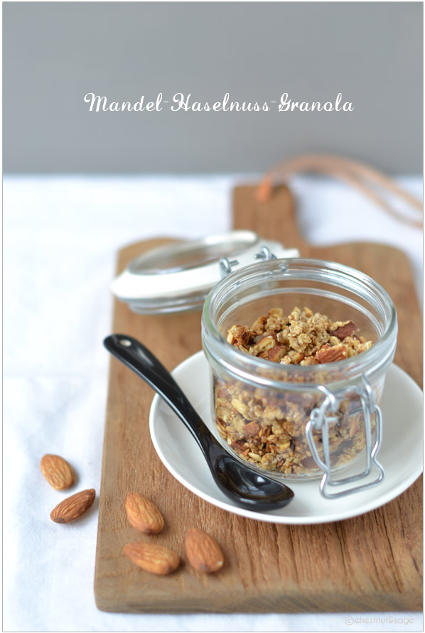 Mandel-Haselnuss-Granola | chestnutandsage.de