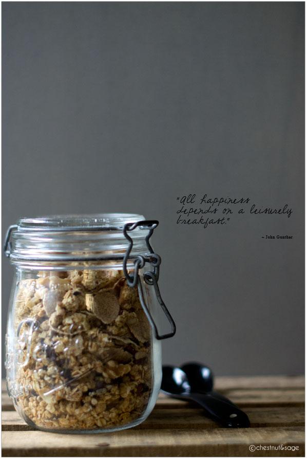 Walnuss-Granola | chestnutandsage.de