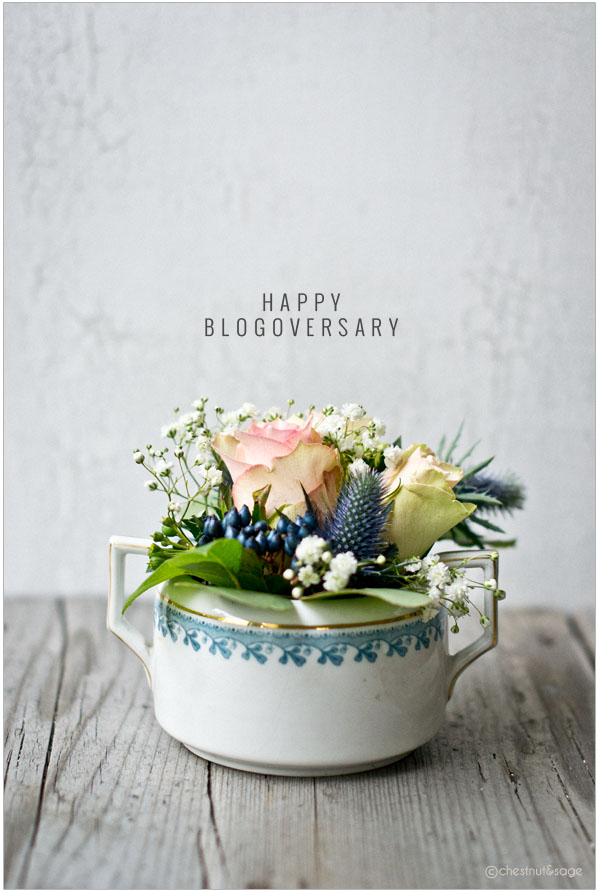 Second Blogoversary | chestnutandsage.de