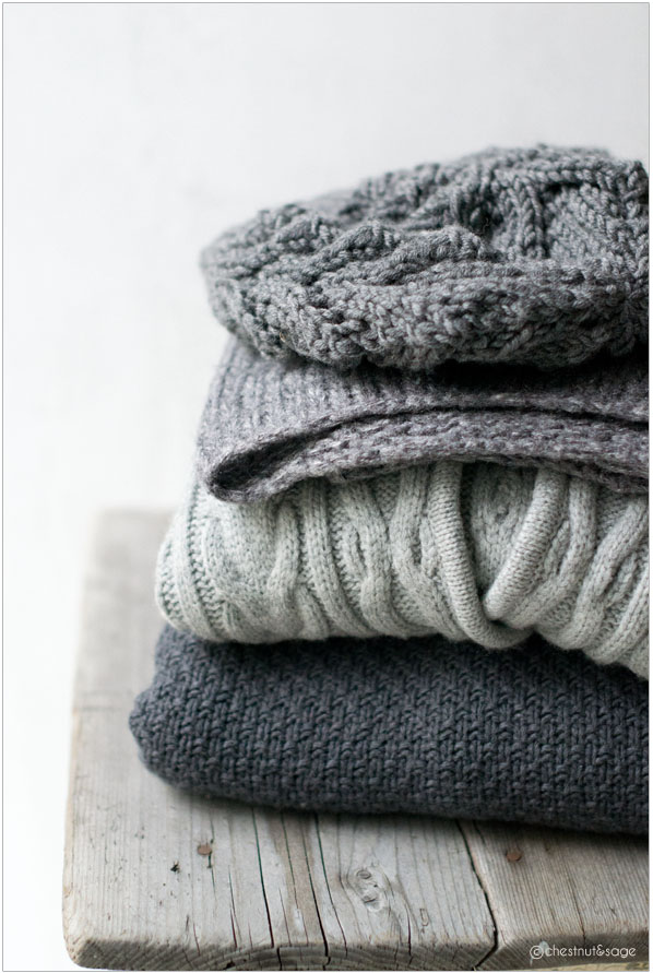 Warm and cozy garments | chestnutandsage.de
