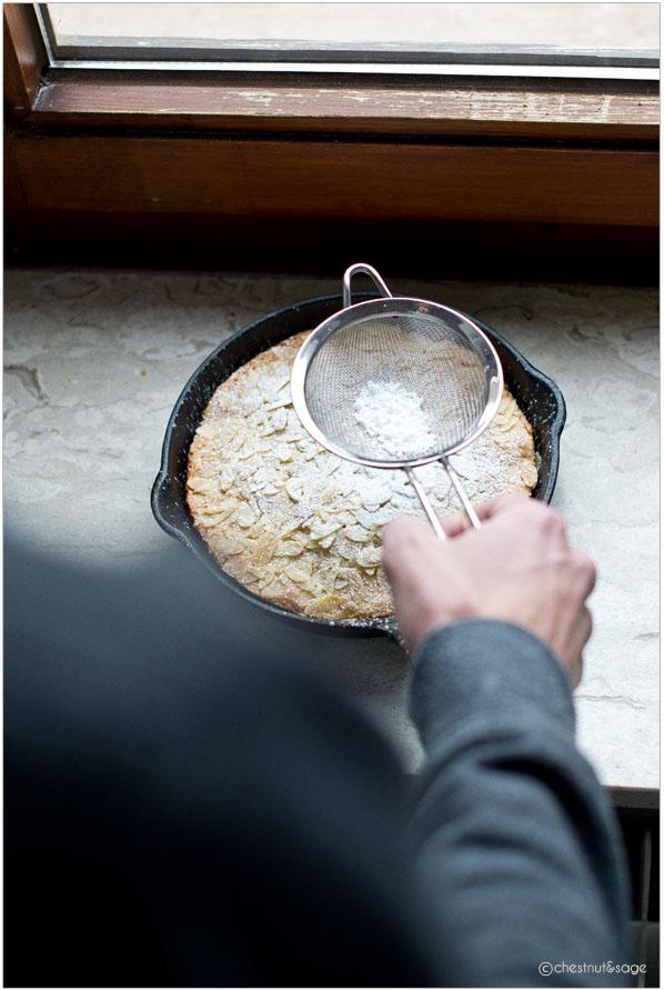 Almond cake | chestnutandsage.de