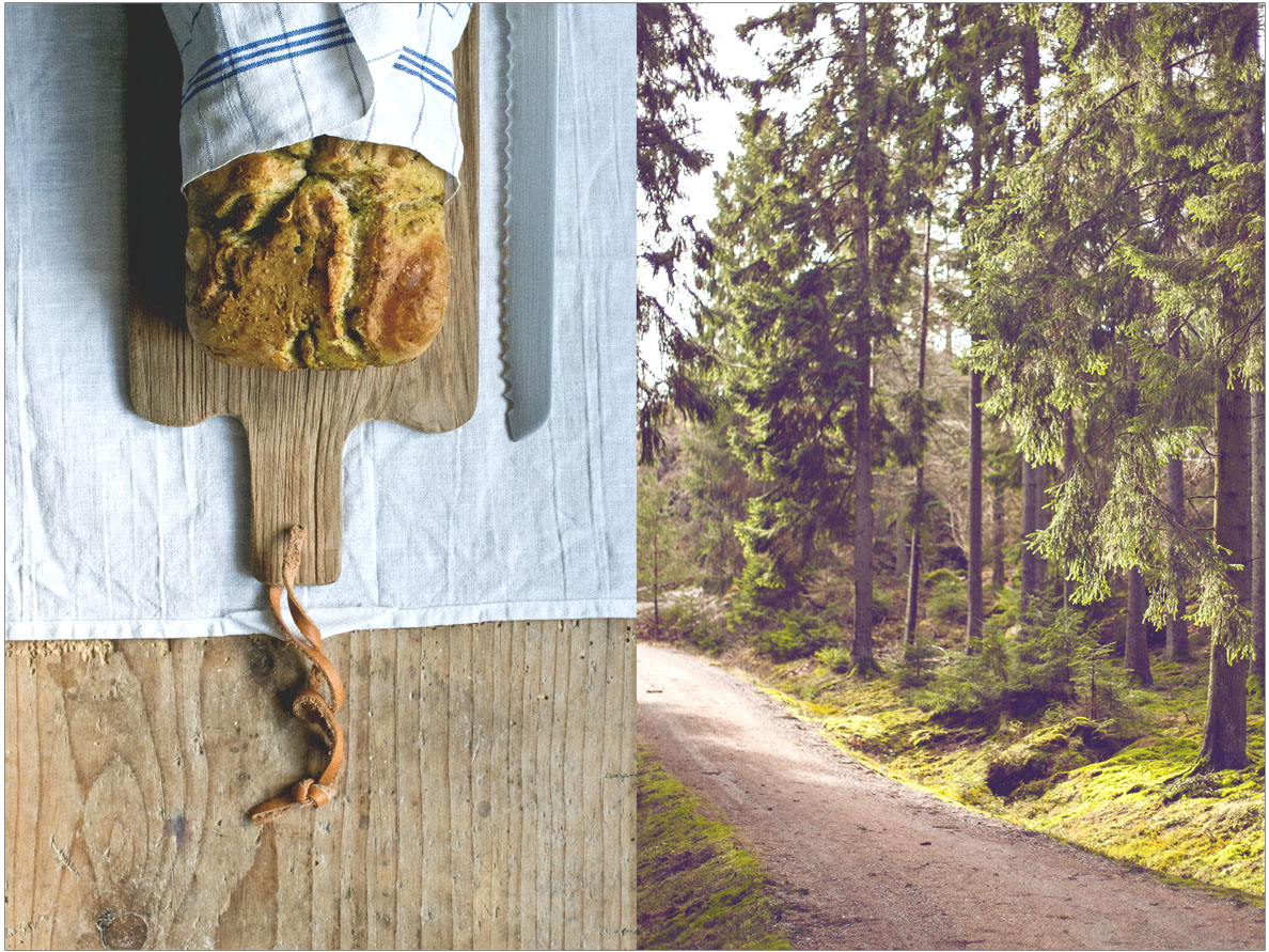 wild garlic focaccia | chesntutandsage.de