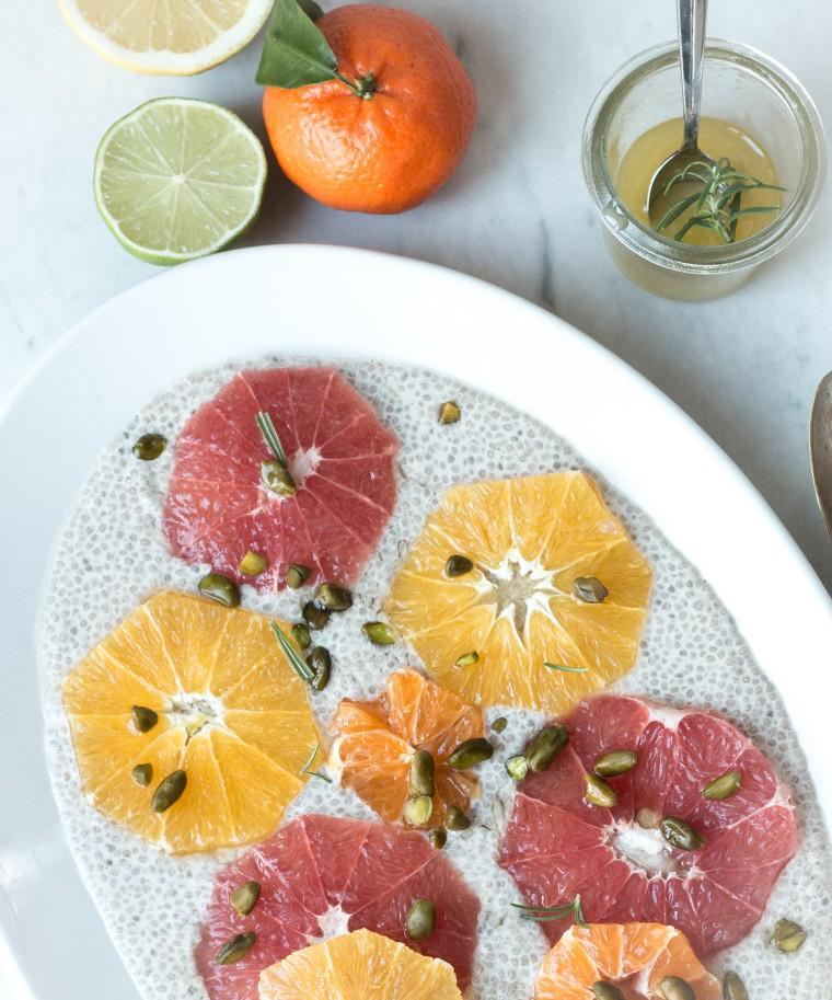 Zitrussalat mit Chia-Pudding | flowersonmyplate.de