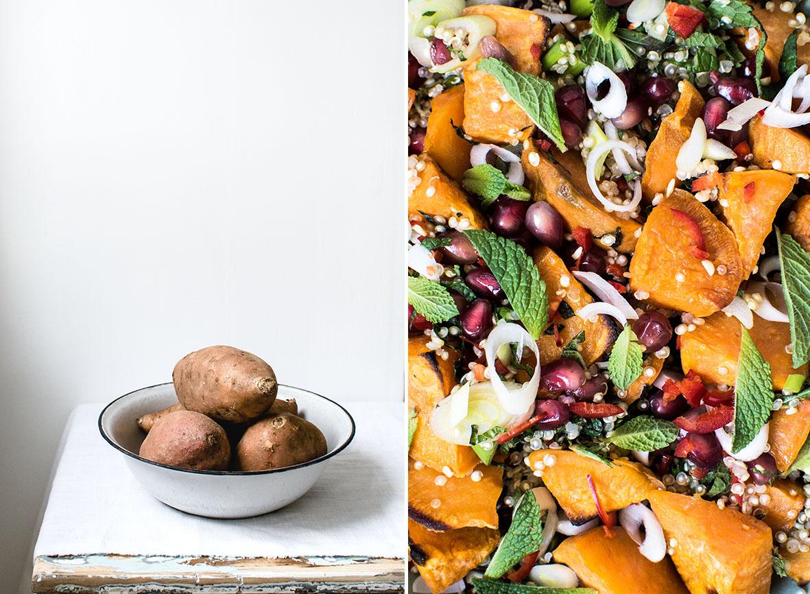 Suesskartoffel mit Quinoa | chestnutandsage.de