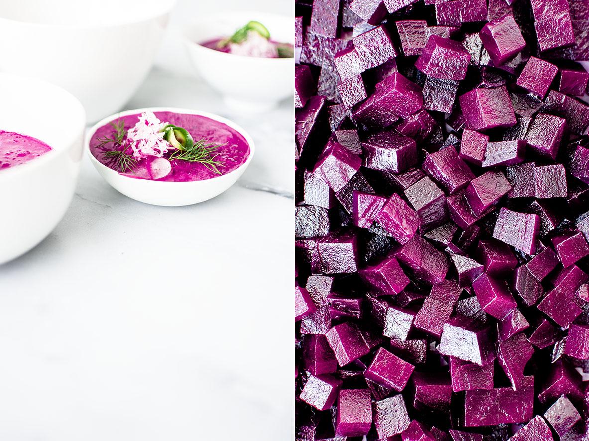 Chlodnik | Vegetarische kalte Rote-Bete-Suppe | chestnutandsage.de