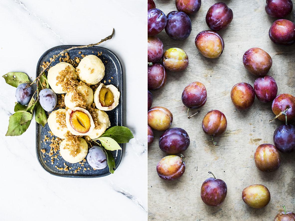 Zwetschgenknoedel mit Kartoffelteig | chestnutandsage.de