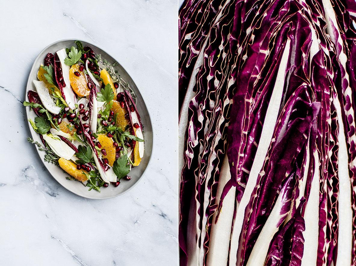 Zitrussalat mit Radicchio und Granatapfel | chestnutandsage.de