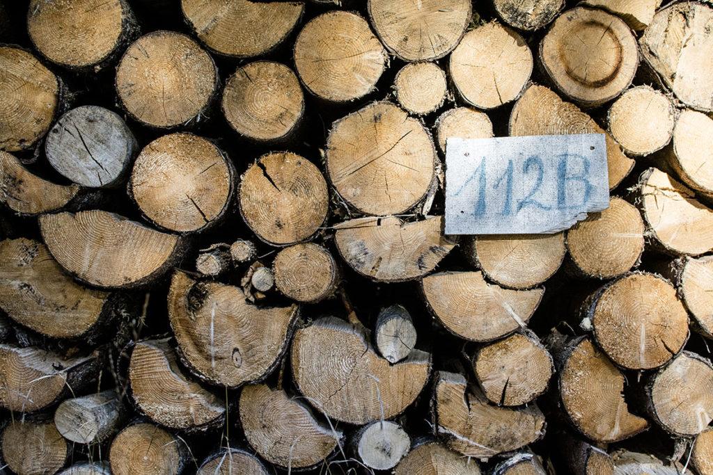 Kranzbach | Holzstapel | chestnutandsage.de
